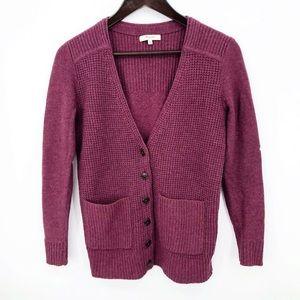 💛 Madewell Cardigan Sweater Merino Wool Button